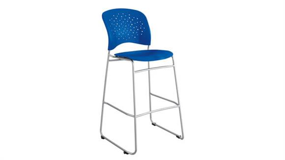 Bar Stools Safco Office Furniture Bistro-Height Chair Round Back