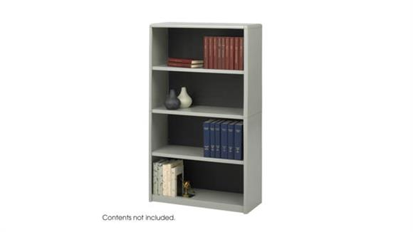Bookcases Safco Office Furniture 4-Shelf ValueMate® Economy Bookcase