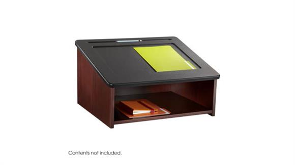 Podiums & Lecterns Safco Office Furniture Tabletop Lectern