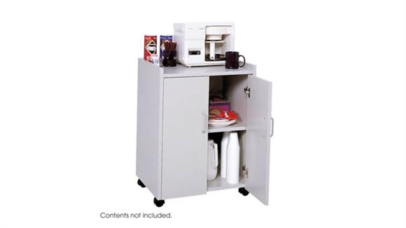 Hospitality Carts Safco Office Furniture Mobile Refreshment Center