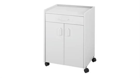 Hospitality Carts Safco Office Furniture Mobile Refreshment Center With Drawer