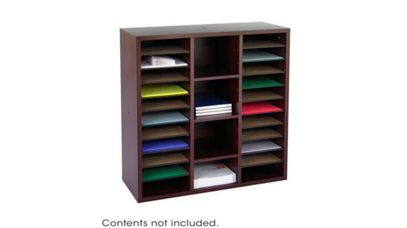 Magazine & Literature Storage Safco Office Furniture Modular Storage Literature Organizer