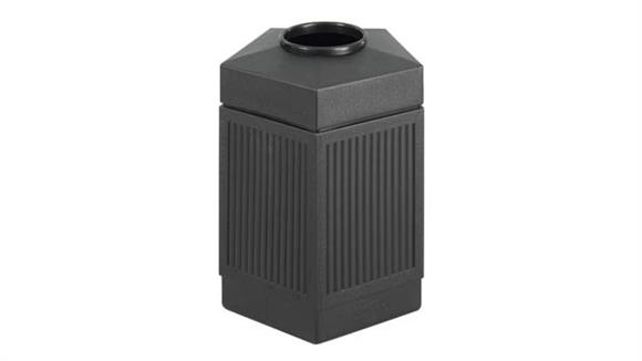 Waste Baskets Safco Office Furniture 45 Gallon Indoor/Outdoor Receptacle