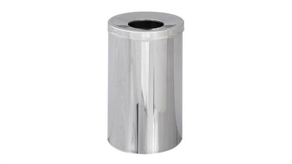 Waste Baskets Safco Office Furniture Open Top Receptacle