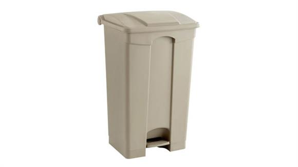 Waste Baskets Safco Office Furniture Plastic Step-On - 23 Gallon Receptacle