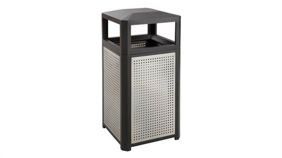 Waste Baskets Safco Office Furniture Evos™ Series Steel Receptacle, 15 Gallon
