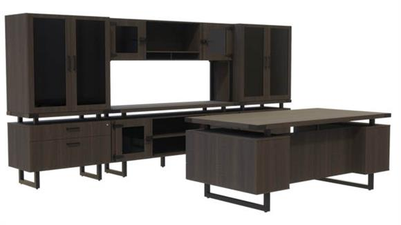 Office Credenzas Safco Office Furniture Typicals Desk Set
