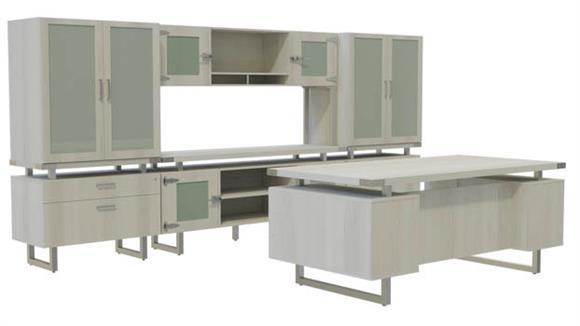 Office Credenzas Safco Office Furniture Typicals Desk Set