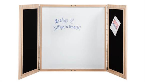 "White Boards & Marker Boards Safco Office Furniture 48""W Whiteboard"