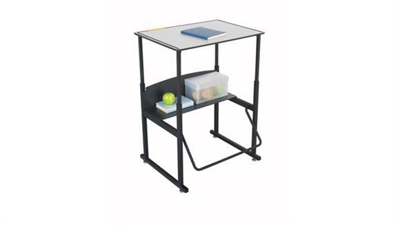 Adjustable Height Desks & Tables Safco Office Furniture Height Adjustable Student Desk