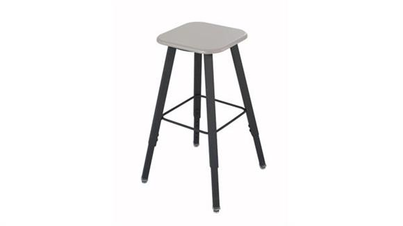 Counter Stools Safco Office Furniture Adjustable-Height Student Stool