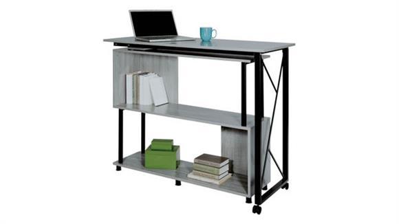 Standing Height Desks Safco Office Furniture Mood™ Standing Height Desk with Rotating Work Surface
