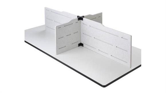 Office Panels & Partitions Safco Office Furniture Hideout™ Privacy Panel Plus Kit