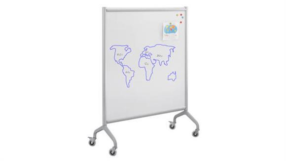 "White Boards & Marker Boards Safco Office Furniture Screen Whiteboard 42"" x 54"""