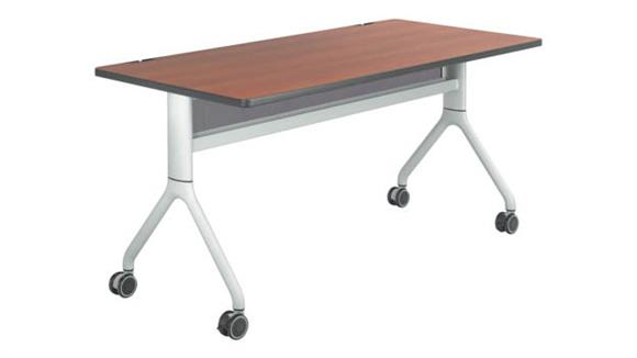 """Training Tables Safco Office Furniture 60"""" x 30"""" Rectangular Training Table"""