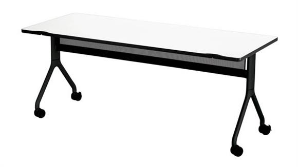 """Training Tables Safco Office Furniture 72"""" x 30"""" Rectangle Table"""