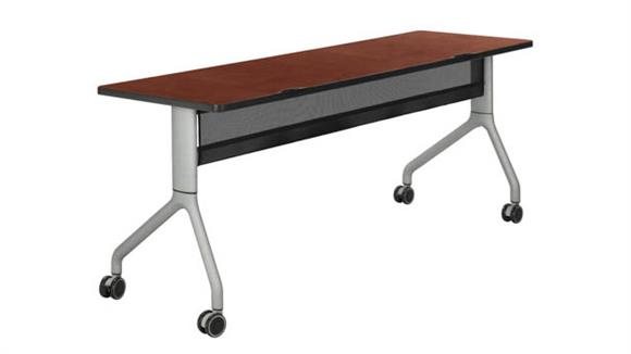 """Training Tables Safco Office Furniture 72"""" x 24"""" Rectangle Table"""