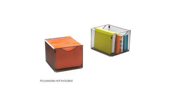 Storage Cubes & Cubbies Safco Office Furniture Onyx™ Mesh Cube Bins (Qty. 2)