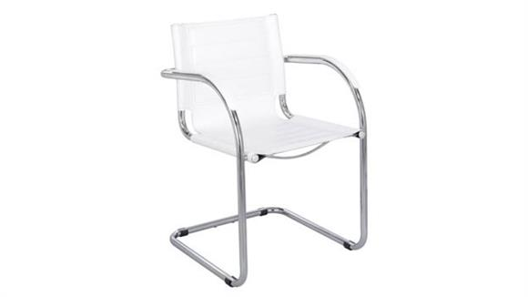Side & Guest Chairs Safco Office Furniture Guest Chair  Leather