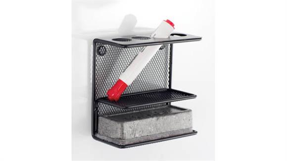Desk Organizers Safco Office Furniture Onyx™ Mesh Marker Holder with Shelf