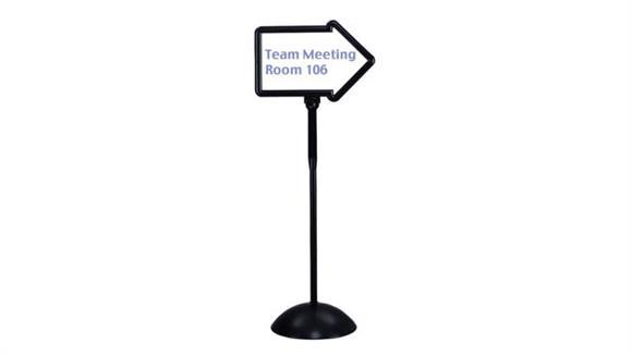 Magazine & Literature Storage Safco Office Furniture Write Way® Directional Sign