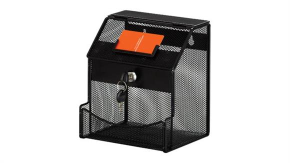 Office Accessories Safco Office Furniture Onyx™ Mesh Collection Box