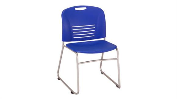 Stacking Chairs Safco Office Furniture Vy™ Sled Base Stacking Chair (Qty. 2)