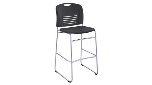 Bar Stools Safco Office Furniture Vy™ Bistro-Height Sled Base Chair