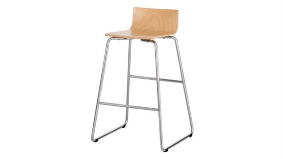 Bar Stools Safco Office Furniture Bosk® Wood Stool