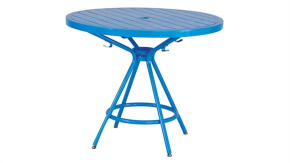 Outdoor & Patio Furniture Safco Office Furniture CoGo™ Steel Outdoor/Indoor Table