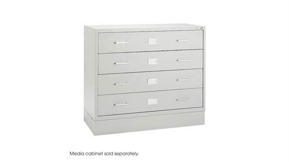 Media Storage Safco Office Furn Audio/Video Microform Cabinet