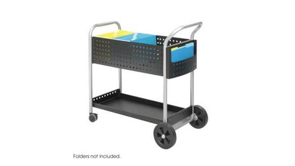 """Mail Carts Safco Office Furniture 32"""" Mail Cart"""
