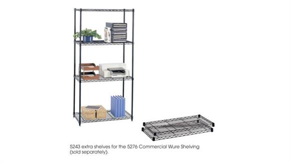 """Shelving Safco Office Furniture Commercial Extra Shelf Pack, 36"""" x 18"""" (Qty. 2)"""