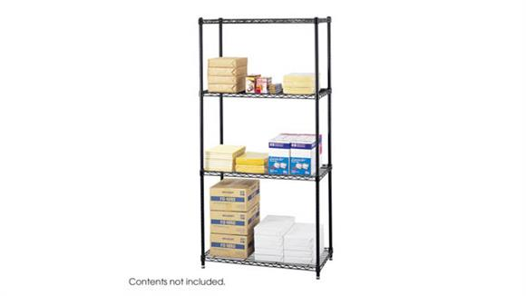"""Shelving Safco Office Furniture Commercial Wire Shelving, 36"""" x 18"""""""