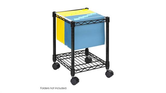 Mobile File Cabinets Safco Office Furniture Compact Mobile File Cart