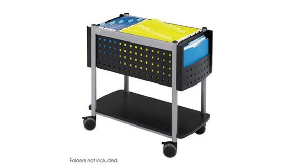 Mobile File Cabinets Safco Office Furniture Open Top Mobile File