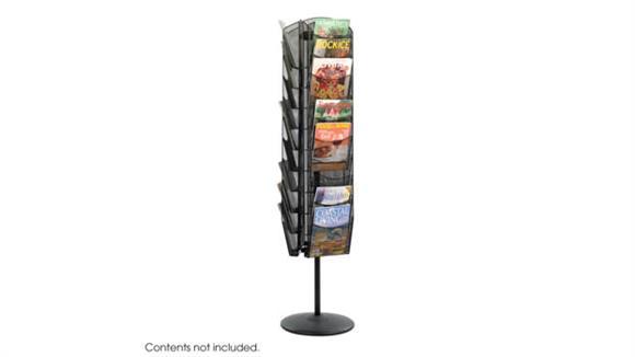 Magazine & Literature Storage Safco Office Furniture Onyx™ Rotating Mesh Magazine Stand
