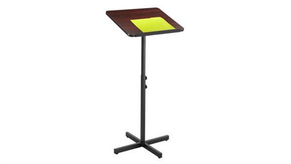 Podiums & Lecterns Safco Office Furniture Adjustable Speaker Stand