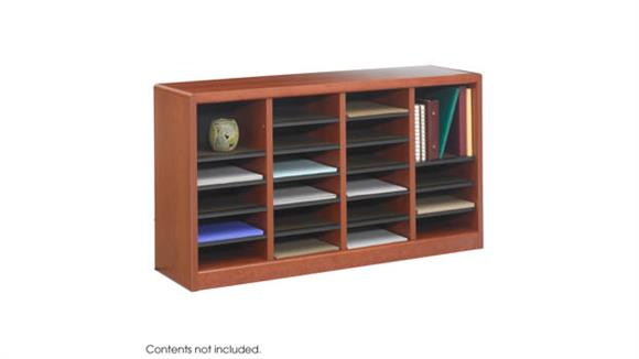 Magazine & Literature Storage Safco Office Furniture E-Z Stor® Wood Literature Organizer