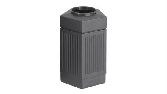 Waste Baskets Safco Office Furniture 30 Gallon Indoor/Outdoor Receptacle