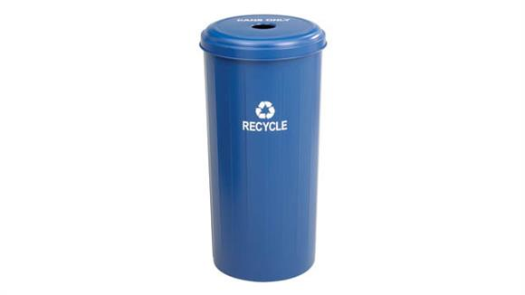 Waste Baskets Safco Office Furniture Tall Round Recycling Receptacle