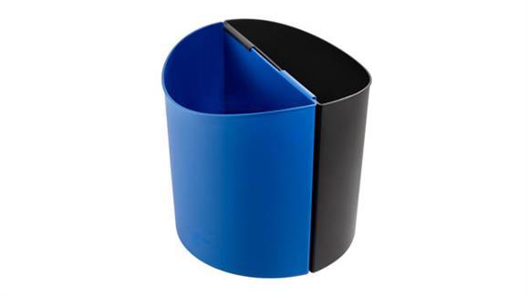 Waste Baskets Safco Office Furniture Desk-Side Recycling Receptacle-LG
