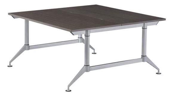 """Workstations & Cubicles Safco Office Furniture 48"""" 2-Person Workstation"""