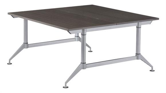 """Workstations & Cubicles Safco Office Furniture 60"""" 2-Person Workstation"""