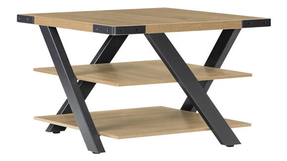 """End Tables Safco Office Furniture 20"""" x 20"""" End Table"""