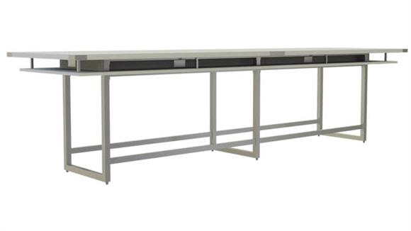 Conference Tables Safco Office Furniture 14' Conference Table, Standing-Height
