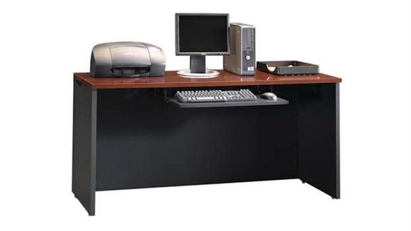"Office Credenzas Sauder 60"" Credenza Shell with Keyboard Shelf"