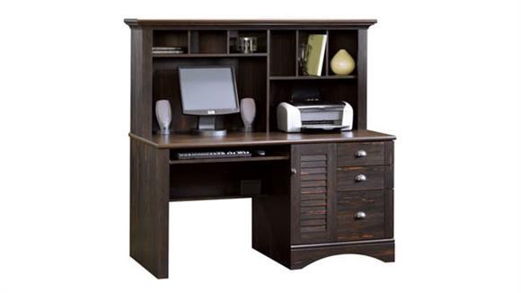Computer Desks Sauder Computer Desk with Hutch