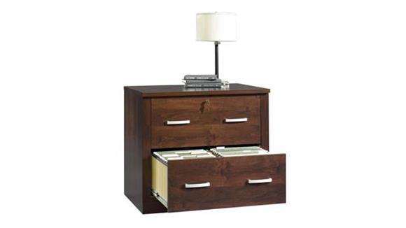 File Cabinets Sauder Dark Alder Lateral File