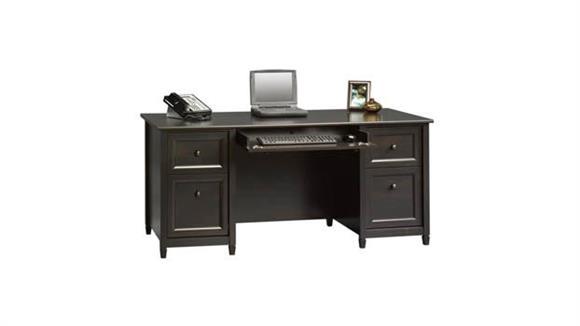 Executive Desks Sauder Estate Black Executive Desk